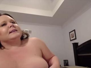My obese matriarch Courtney down filmy boobs