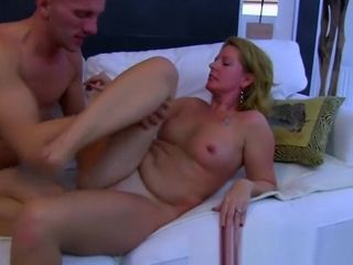 Milf romps After She Catches Her sonny tugging