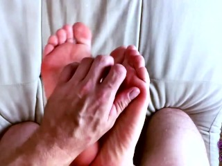 'Tied his girlfriend's gams and commenced to kittle the stilettos during a feetjob AnnyCandyPainboy'
