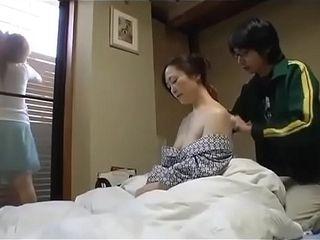 When fellow scrub girlfriend&#039_s mummy assets, he romps her - Pt2 On OnMilfCam.com