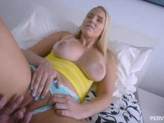 Meaty globes stepmother Vanessa box gets insatiable after working out (Full Story)