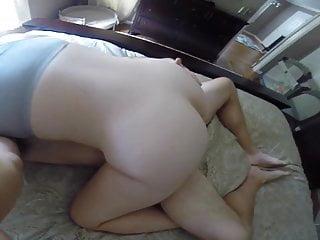 Phat ass white girl wifey railing husband