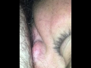 My wife's dishevelled pussy
