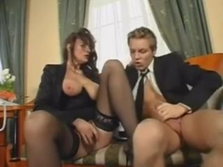 Impressive Office fuck-a-thon With Mature damsel
