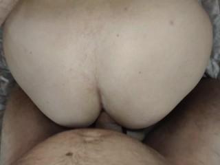 'Анал с секси брюнеткой. Анальный секс в неразработанную попу. Миньет в 1 части в