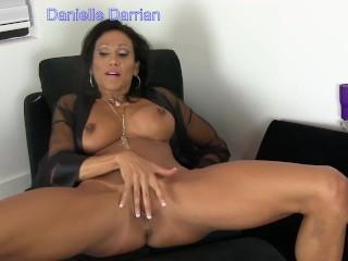 Danielle 1st purl Vid