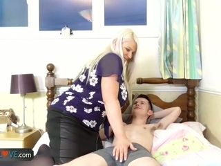 AgedLovE gonzo romp with buxom Mature gals