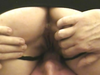 BBW Wife Swinging While Hubby Films