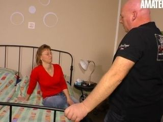 'XXXOMAS - GERMAN MATURE GETS DICKED DOWN BY HER NEIGHBOR'