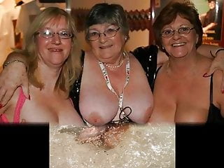 Matures and grandmas sight at the knockers on Her
