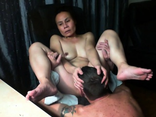 Chinese wifey get ate untill climax