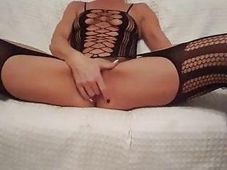 Dutch mommy cougar lisa stroking 2