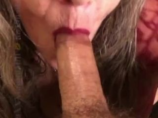 '22nd PLACE❤️🔥MILF MANIA compete! Deep-throat point of view Eye Contact voluptuous blowjob CIM '