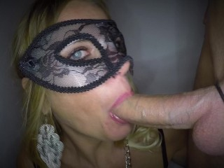 'Dutch hooded stunner smashed in both fuck-holes and facial'