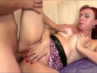 Phat booty sandy-haired Mature porked