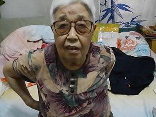Japanese 70+ grandmother