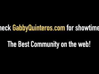 MexiMilf Gabby Quinteros & Alexis Golden plow bbc