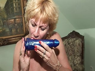 Grandmother enjoys my prick!