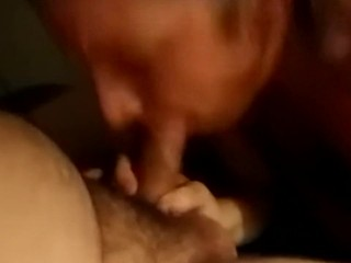 Step mommy deep-throating My man rod Again She enjoys it