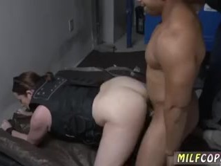Cougar suck job guzzle scorching first-timer sharing We put his arse to work and