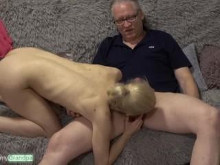 'Niemand lutscht besser als Nesty! Mouth-watering Lips On aged cocks Ep.04 - Opa Hans spritzt alles in den Mund'