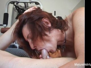 Eroded Granny Gets An Anal isometrics more be transferred to Gym - Mature'NDirty