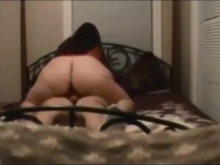 Plumper wifey romped on real homemade