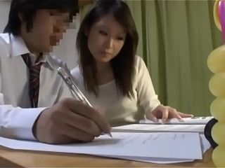 Japanese personal cougar educator also enjoys to oral job for her schoolgirl - Pt2 At OncougarCam.com