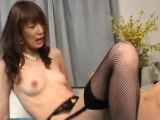 Sadism & masochism activity with mature playgirl providing head and using fucktoys