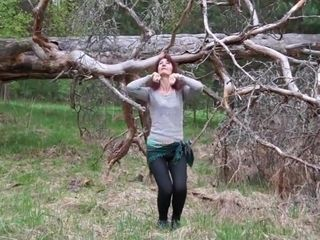 Arousal of the woods gal