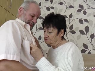 GERMAN grandmother AND granddad IN very first TIME pornography vid