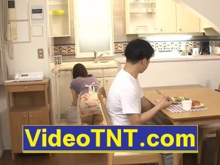 Son-in-law pulverizing mom mummy while daddy is asleep japanese japanese wish porno