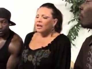 MATURE STEP mommy bi-racial group sex