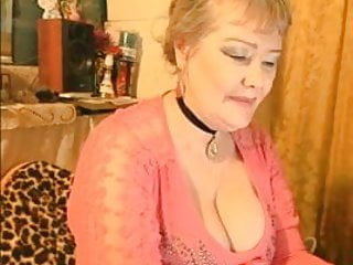 Uber-sexy russian grannie displays fantastic orbs 2