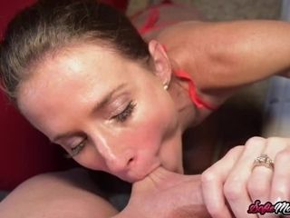 'POV blow-job And hj By insane MILF'