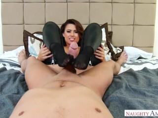 Cockslut wifey Ava Angelina underwear allurement