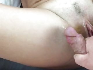 Swiss bony mature - rectal, double penetration and cum shot