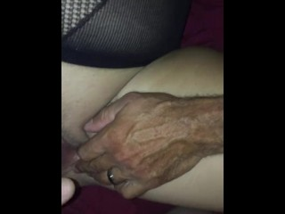 Spouse opens up insane cougar vagina Open for large spunk Shot From youthfull Bull