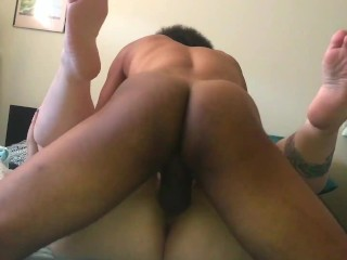 'I enjoy being packed by my youthfull big black cock dad. Brief VERSION '