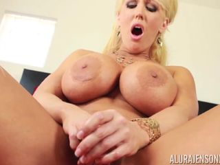 Alura Jenson changing bras and groping One Out