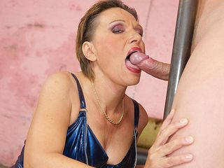 Fill this super-naughty mama with a torrid inward climax
