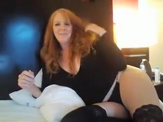 Mature sandy-haired Sexed By junior