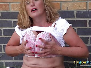 EuropeMaturE Camilla internal cumshot epic Solo have fun