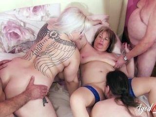 AgedLovE gonzo romp with Mature women