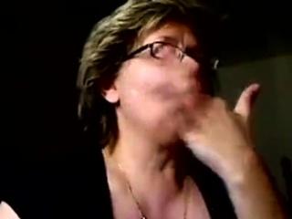 Granny edibles cum exceeding webcam