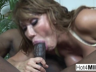 'Ava Devine takes a big black cock up her ass'