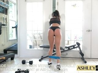 Sport damsel teaching Ashley Sinclair free-for-all Version