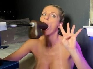 Marionette biotch deep throats banging machine fuck stick and gags all time - unbelievable super-naughty