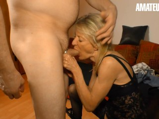 'XXXOmas - ultra-kinky German Mature Gets Her taut vagina romped rock-hard By Stranger - AMATEUREURO'