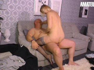 'XXXOmas - spectacular German Mature strong twat boink With senior Lover'